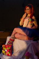 Modelling for Dr Sketchy's II by Dahlia-Dubh