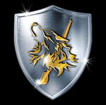 GoldenWolf Shield Avatar by JohnGWolf