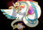 Pokemon ancient times - Quetzal by badafra