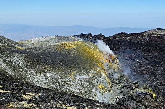 On top of the Etna by AlexLehner