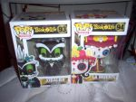 Xibalba and Muerte Funko Pops :) by FairyGal11