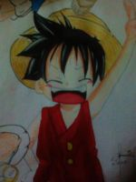 luffy by silvermoonpuffs