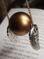 The Golden Snitch by MissCosettePontmercy