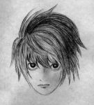 L of Death Note by DamnedCat51