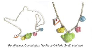 Pendlestock Tea for 3 Necklace by chat-noir