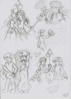 ALBW: Doodles (!!!SPOILERS!! !!!SPOiLERS!!!) by SugarBubbles2000