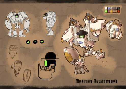 Ironbolt - Baron Ironmutt Sheet by DLSGorm