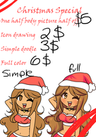 Christmas Commission Special !! by LadySelph