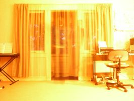 Closing the curtains by PhilippaAnne