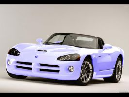 Powder Coat Blue Viper by UnlockableDreams