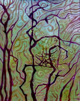 T.C. Steele 09-swirling forest by zyphryus