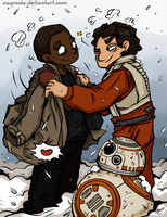 Commission - Star Wars - StormPilot by caycowa