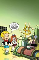 Classic Richie Rich cover colors 13 by DustinEvans