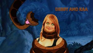 Debby and Kaa 01 by ReforgedIron