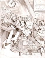 Percy x Oliver by yellowrosebude