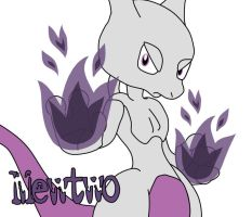Mewtwo by AshleyWolf259