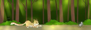 WoBS: Honeypaw Assignment 2: Hunting Practice by Eeveelutions95