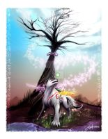 Okami Amaterasu - Bloom by TheDailyNissan