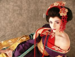Maiko Poser by ShiverZPhotography