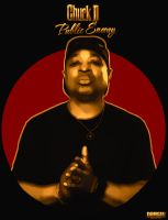 Chuck D by DemircanGraphic