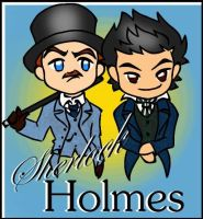 Holmes 09 cover: Chibi style by kilala1010