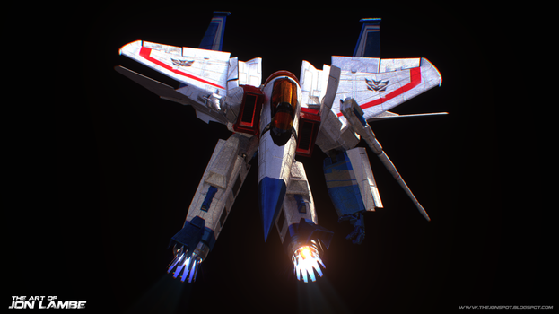 Starscream by Lambator