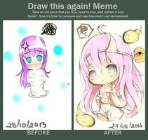 Redrawing Meme by tridungz