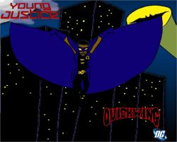 Young Justice style Quickwing by KiteBoy1