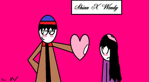 Two Love Birds In The Month Of Love by LRW0077
