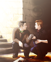 Klaine: So, Mr.Detective, let's start? by Alibodyrus