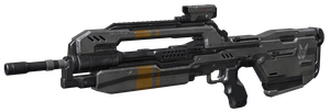 (Halo 4) BR85HB SR Battle Rifle by ThelVoramee