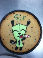 Gir cookie cake by misstakenX
