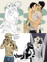 Shadowhunters sketches by divergent-nephilim