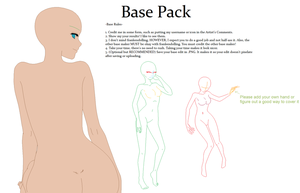 Base Pack 1 by horsehugs