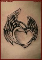 winged heart by slawekmyskow