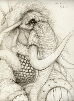 Oliphant by Kimsuyeong81