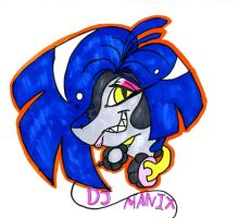 DJ Manix Badge by VexerRVixen