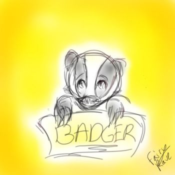 BADGER  by FairyRave
