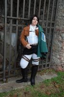Levi Rivaille Cosplay. by BakaSaru2000