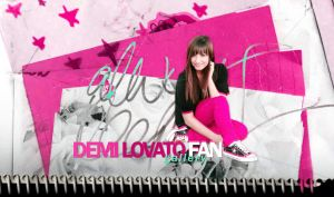 Demi Lovato Wallpaper by amazing25