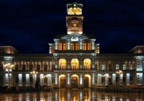 Town Hall. Arad by mariustipa