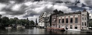 Amsterdam HDR Panoramic View by gregorland