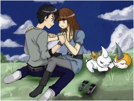Collab: Santos and Lily by Youarenotthere