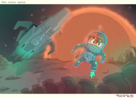 the outer space by rickrd