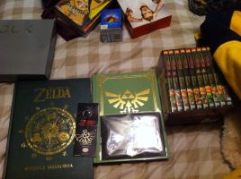 Zelda collection by blazetame