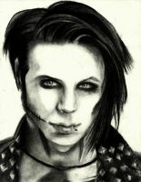 Andy Biersack Drawing 5 by TatsuoMizushima