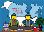 Lego'd Great White North by Ripplin