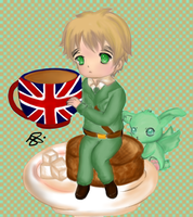 Hetalia Cafe:England by iCanadianBacon