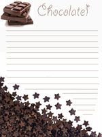 Chocolate stationary by Daisy--Chains