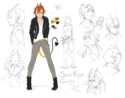 Sean Magee Character Sheet by Bobo-Kitty